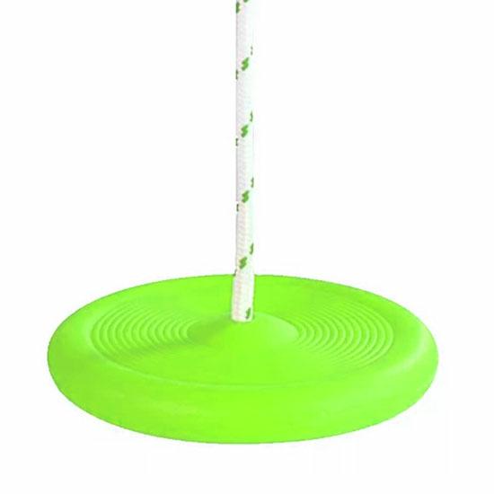 Zöld műanyag tányérhinta- CsimpiStore Webáruház