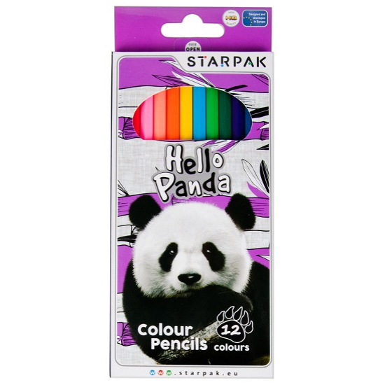 Panda Színes ceruza 12 db-os - CsimpiStore webáruház