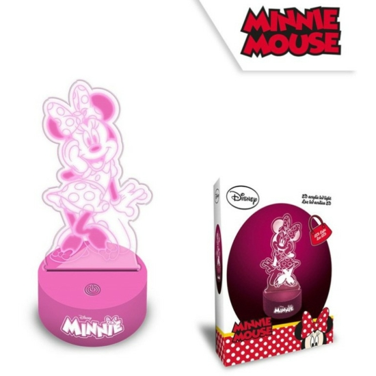 Disney Minnie 3D LED Lámpa