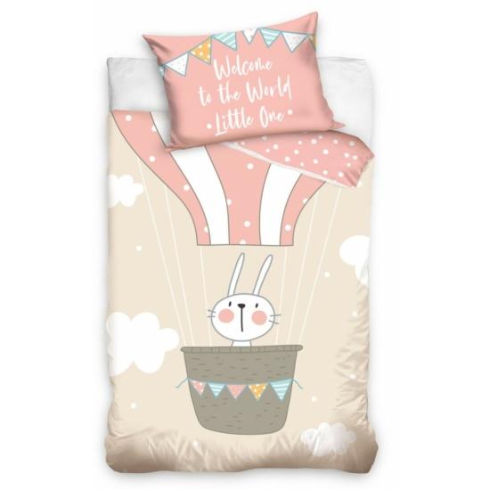 Nyúl gyermek ágynemű 100 × 135cm, 40 × 60 cm