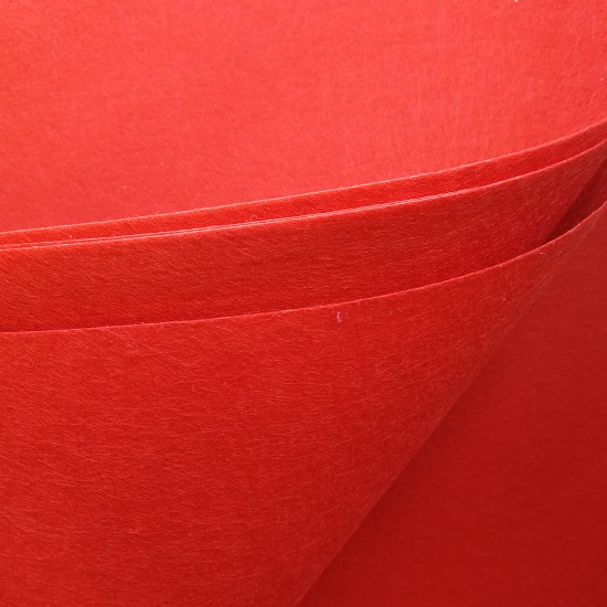 Piros Barkácsfilc, filc anyag 60x40-es - CsimpiStore webáruház