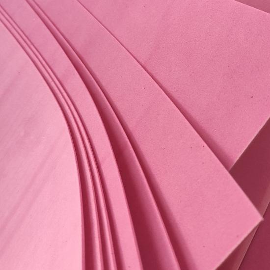 Rózsaszín Dekorgumi lap 60x40-es 2mm- CsimpiStore webáruház