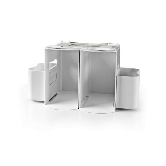 Prince Lionheart nappyDEPOT 2in1 felakasztható pelenka rendszerező - fehér