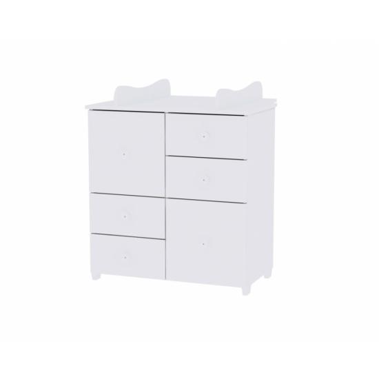 Lorelli Cupboard pelenkázó komód - White / Fehér