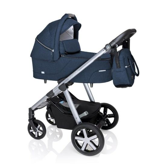Baby Design Husky multifunkciós babakocsi + Winter Pack - 03 Navy 2020