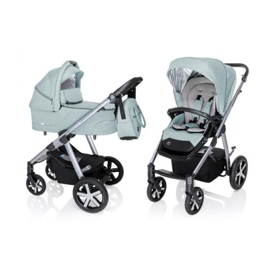 Baby Design Husky multifunkciós babakocsi + Winter Pack - 05 Turquoise 2020