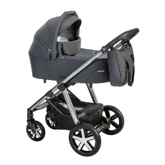 Baby Design Husky 2in1 multifunkciós babakocsi + Winter Pack - 117 Graphite 2021