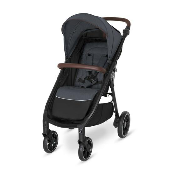 Baby Design Look Gel sport babakocsi - 117 Graphite 2021