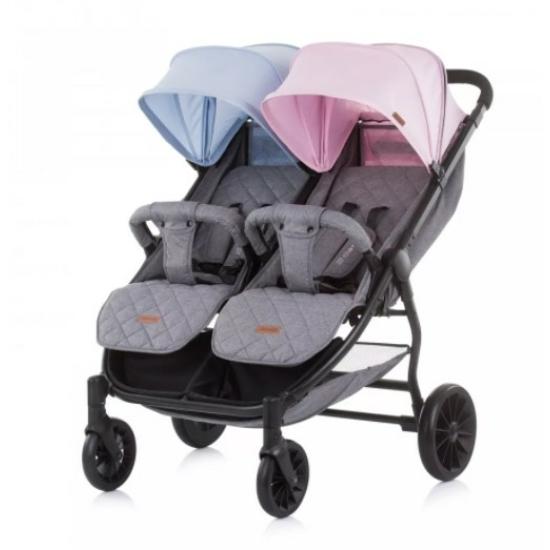 Chipolino 2 Classy iker babakocsi - Blue / Pink 2021
