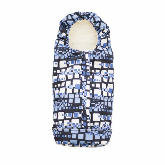 Nuvita Pop bundazsák 100cm - Marbled Blue / Beige - 9615 !! kifutó !!
