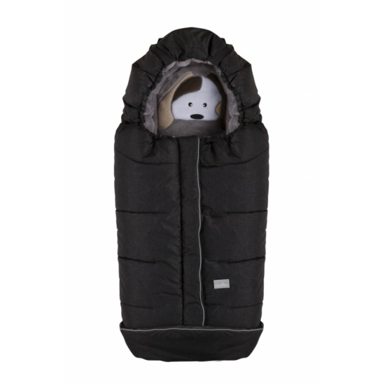 Nuvita AW Junior Cuccioli bundazsák 100cm - Dog Melange Black / Grey - 9605
