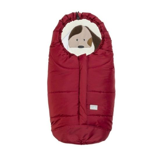 Nuvita AW Ovetto Cuccioli bundazsák 80cm - Dog Jester Red / Beige - 9205