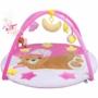 Kép 1/3 - Játszószőnyeg melódiával PlayTo alvó maci rózsaszín