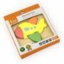 Kép 3/3 - Fa képes kirakó puzzle Viga repülő