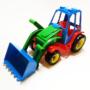 Kép 1/3 - Játék traktor markolóval és rakodóval- CsimpiStore Webáruház