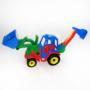 Kép 2/3 - Játék traktor markolóval és rakodóval