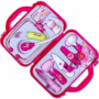 Kép 2/2 - Orvosi táska, hangot adó világító műszerekkel. Játék orvosi készlet, rózsaszín táskával- CsimpiStore Webáruház1