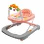 Kép 1/7 - Gyerek bébikomp New Baby szilikon kerekekkel Forest Kingdom Pink