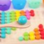 Kép 7/11 - Montessori Játékok Színes Gyöngyök - CsimpiStore Játék Webáruház6
