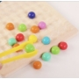 Kép 8/11 - Montessori Játékok Színes Gyöngyök - CsimpiStore Játék Webáruház7