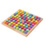 Kép 4/11 - Montessori Játékok Színes Gyöngyök - CsimpiStore Játék Webáruház3