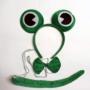 Kép 1/4 - Állatos fejpánt szett Béka - CsimpiStore Webáruház