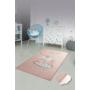Kép 1/2 - Gyerekszőnyeg Lányoknak - Pink Elefánt 100x160cm-CsimpiStore Webáruház