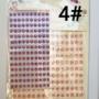 Kép 5/9 - Dekorációs Öntapadó kerek ékkövek/strasszok. Választható színekben. 330db