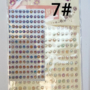 Kép 8/9 - Dekorációs Öntapadó kerek ékkövek/strasszok. Választható színekben. 330db - CsimpiStore webáruház 7