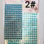 Kép 3/9 - Dekorációs Öntapadó kerek ékkövek/strasszok. Választható színekben. 330db - CsimpiStore webáruház 2