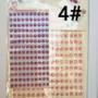 Kép 5/9 - Dekorációs Öntapadó kerek ékkövek/strasszok. Választható színekben. 330db - CsimpiStore webáruház 4