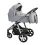 Kép 1/2 - Baby Design Husky 2in1 multifunkciós babakocsi + Winter Pack - 107 Silver Gray 2021