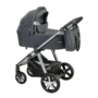 Kép 1/2 - Baby Design Husky 2in1 multifunkciós babakocsi + Winter Pack - 117 Graphite 2021